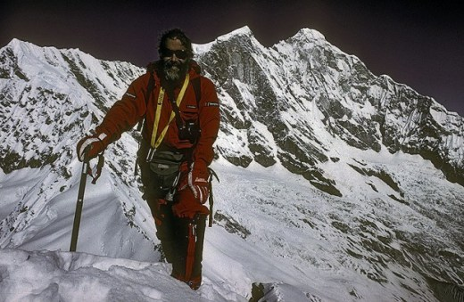Chris Bonington Menlungtse China 1988