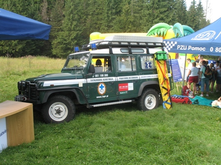 Ambulans Land Rover