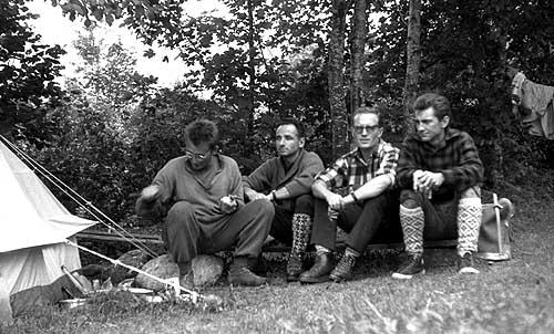 Alpy lato 1961 Biel, Mostowski, Długosz, Momatiuk