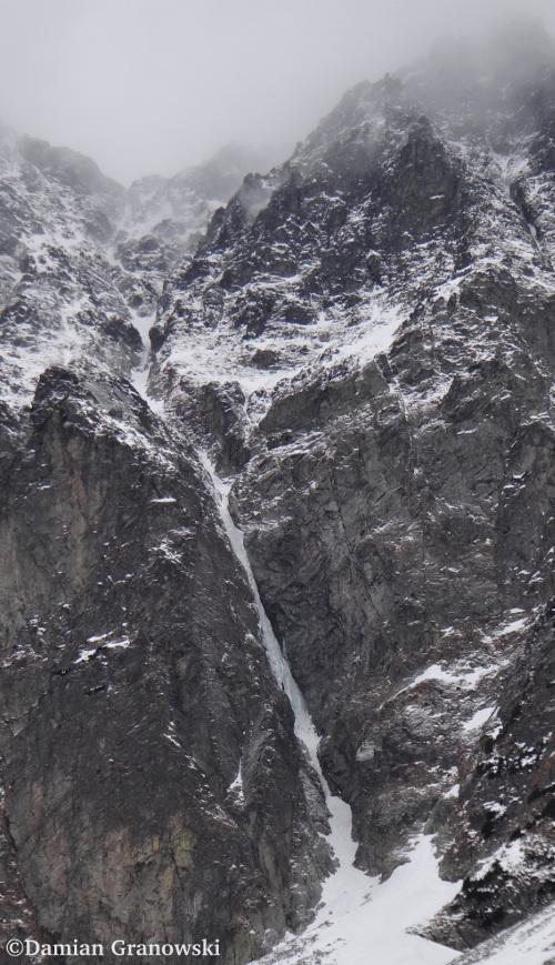 Bratysławski Lodospad w Dolinie Jaworowej