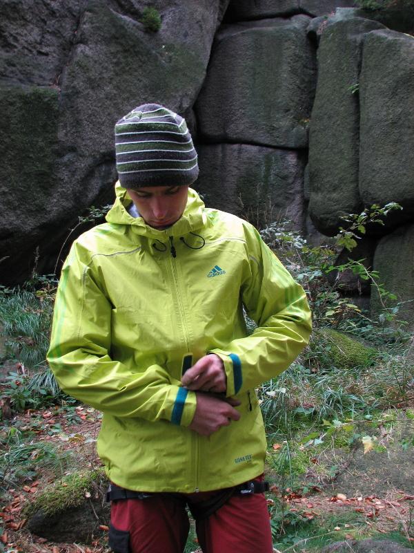 Test kurtki adidas terrex GTX Active Shell Jacket