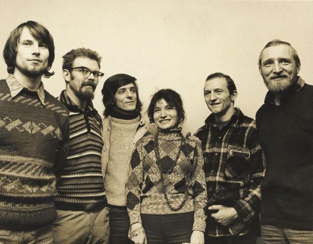Od lewej Wojtek  Kurtyka, ...... z prawej Tadeusz  Piotrowski