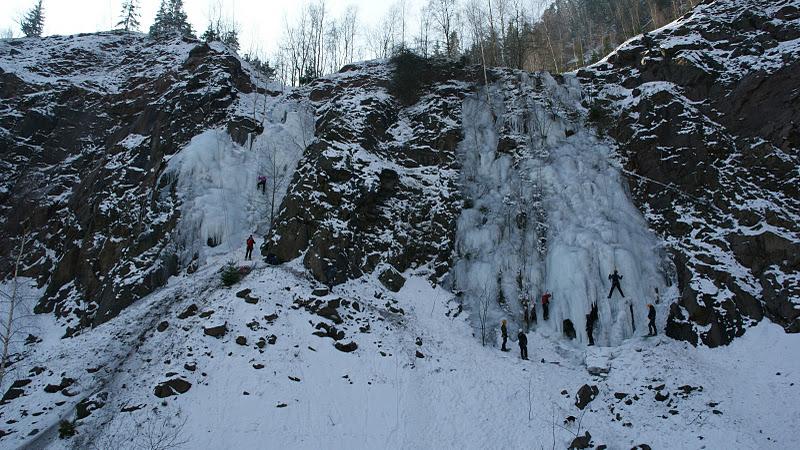 Lodospady w Głuszycy Górnej