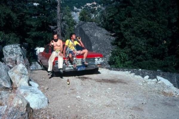 J. Majer i R. Pawłowski w Yosemitach