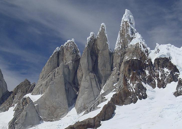Masyw Torre w Patagonii