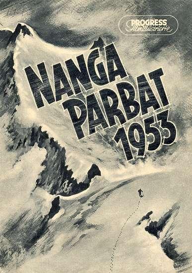 Plakat Nangi Parbat z 1953 roku