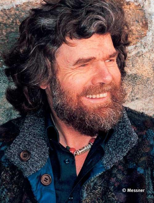 Reinhol Messner Portret