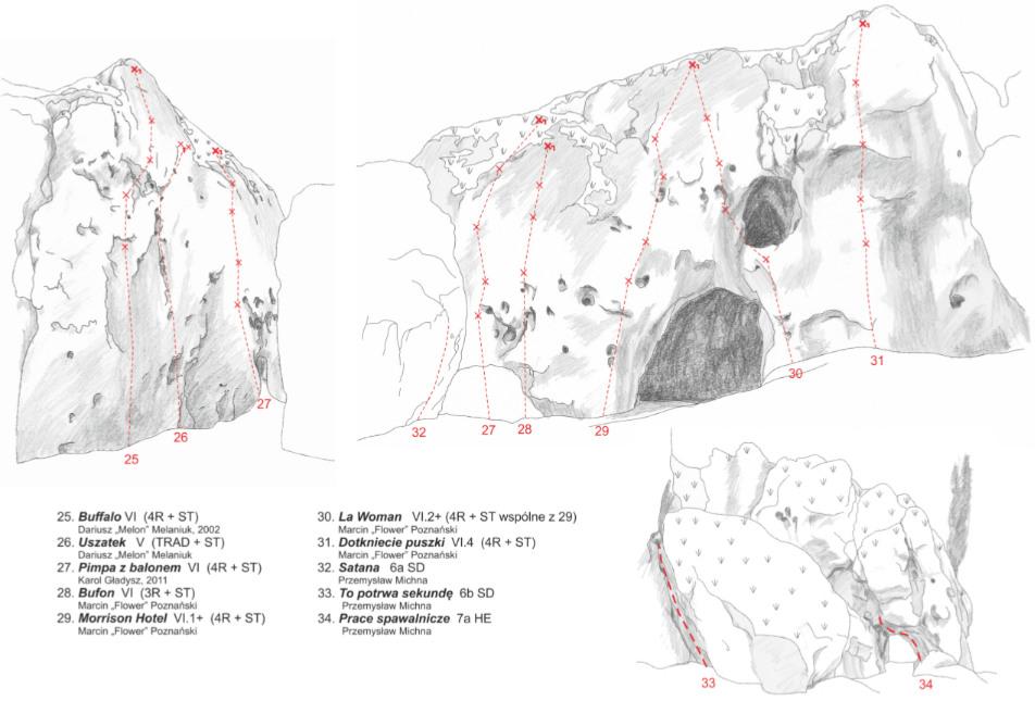 Topo Jaskini Strzegowej - wewnątrz