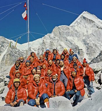 Uczestnicy pierwszej zimowej wyprawy na Everest
