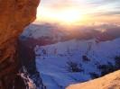 Zachód słońca na biwaku