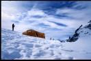 Biwak w okolicach Mont Blanc du Tacul