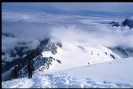 Zejście na Col du Midi