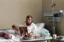 Jerzy Kukuczka w szpitalu na Alasce