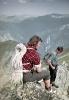 Jerzy Kukuczka po wspinaczce w Tatrach