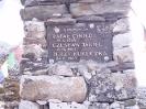 Pamiątkowy Czortem pod ścianą Lhotse