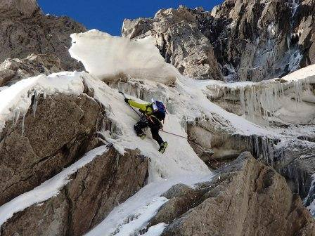 polish couloir start drogi