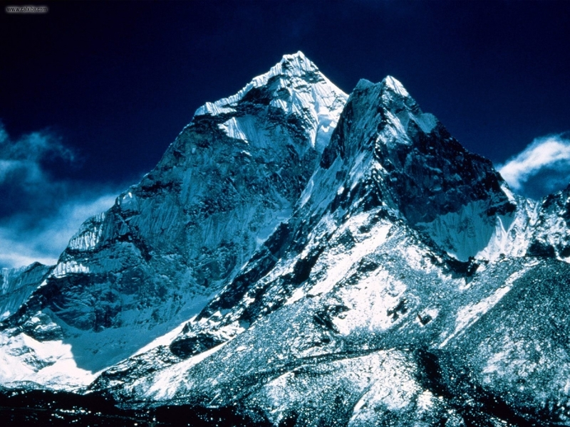 Widok na Mount Everest
