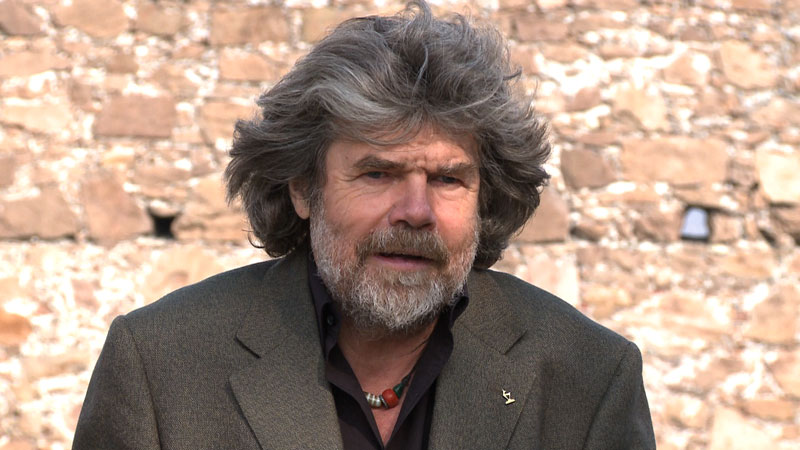 Reinhold Messner w filmie o Kukuczce