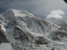 Broad Peak widziany od płn-zach z okolic bazy pod K2