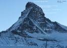 Topo drogi Schmidtów na północnej ścianie Matterhornu