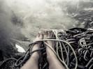 Moje stopy na Zamarłej