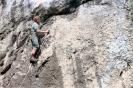 Kukuczka podczas wspinaczki w skałkach jurajskich
