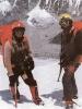 Jerzy Kukuczka i Andrzej Czok podczas wyprawy na Mount Everest