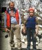 Jurek Kukuczka i młody Sherpa