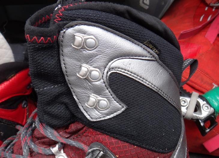 System sznurowania u góry buta