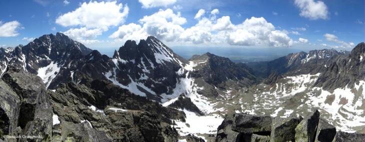 Panorama ze Żłobistego Szczytu