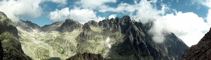 Widok z Pośredniej Grani-1