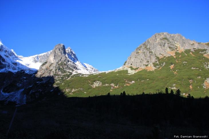 Widok na próg Doliny Jagnięcej
